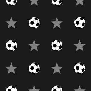 Fußball Sterne Muster Geschenk