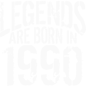 Legenden wurden 1990 geboren Geburtstag Geschenk