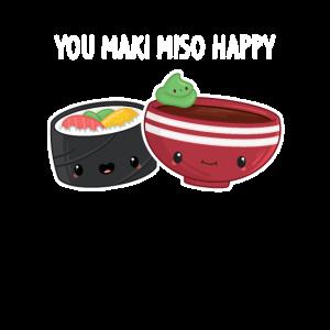 Sushi You maki miso happy