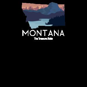 Montana Proud State Motto Der Schatzstaat