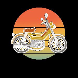 Mofa Retro Mopedfahrer Herren Geschenk