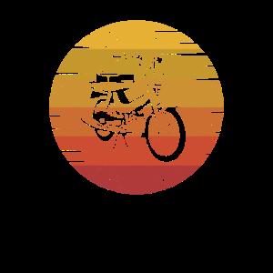 Herren Vintage Mofa Motiv Mopedfahrer Mopedlegende