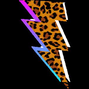 supercooles Leoparden Motiv