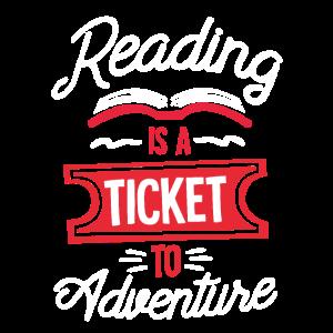 Reading Is A Adventure School Funny English Teache