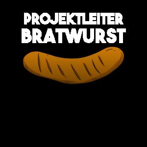 Projektleiter Bratwurst Grillen BBQ