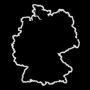 Deutschland Umriss Land Heimat Liebe Fußball
