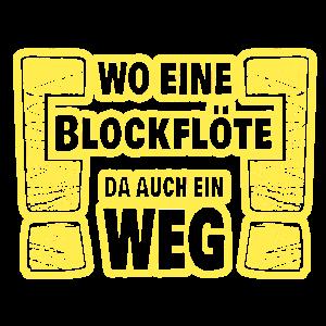 Blockfloete Musikinstrument