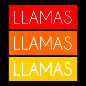 Llamas Llamas Llamas