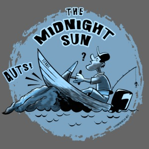MIDNIGHT SUN, FUNNY FISHING TEXTILES, GIFTS