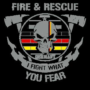 Feuerwehr 112, I fight what you fear, Deutschland