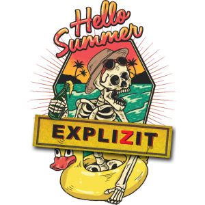 hello summer skull