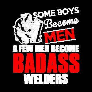 Einige Jungen werden MÄNNER