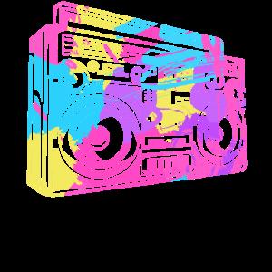 Boombox Retro Old School Hip Hop 80s 90s Vintage