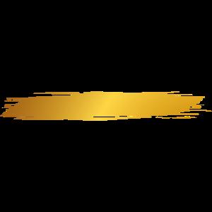 Farbe Klecks Spritzer Maler Geschenk Gold Streifen