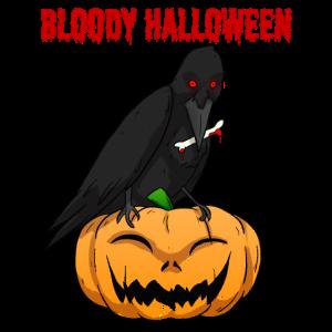 Gruseliges Halloweenkostüm