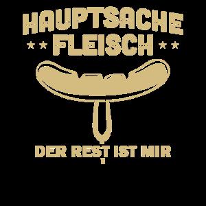 Grillen Bratwurst Hautsache Fleisch Grillmeister