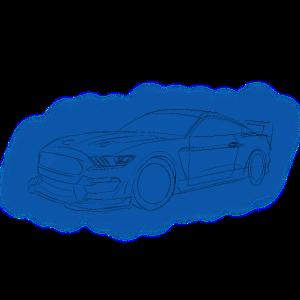 Auto Zeichnung