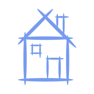 Haus Skizze