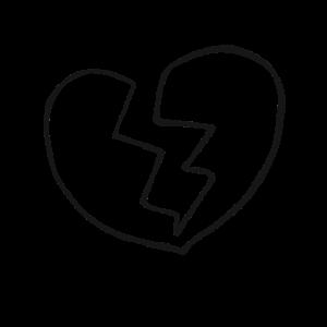 Trennung Gebrochenes Herz Liebeskummer Geschenk