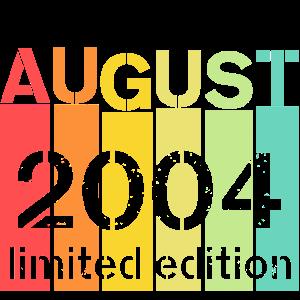 16. Geburtstag August 2004 bday birthday geschenk