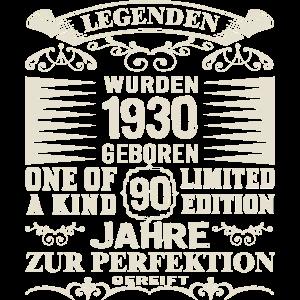 90. Geburtstag Jahrgang 1930 90 Jahre Legenden