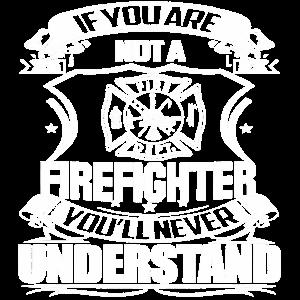 Feuerwehr Ehre, Firefighter,Spruch Outfit Shirt