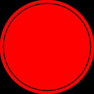 Kreis Rot Selbstgestaltung