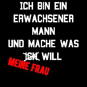Ehemann Frau Sklave Spruch Lustig Witzig Geschenk