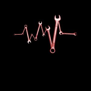 Schrauben mit Herz design