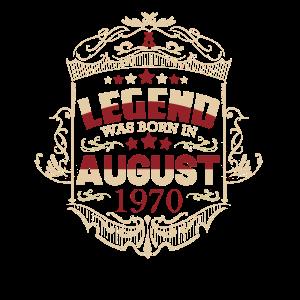 1970 Geburtstag Geschenkideen eine Legende wurde