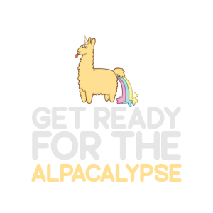 Machen Sie sich bereit für das Alpacalypse Alpaca Shirt Llama