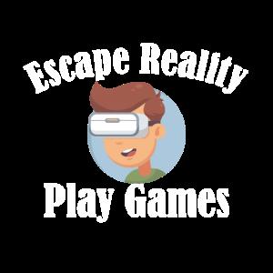 Escape reality gaming design geschenkidee
