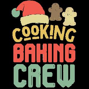 Cooking baking crew - Weihnachten