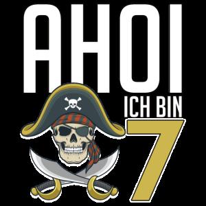 7. Geburtstag | siebter Geburtstag | Pirat