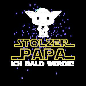Stolzer Papa ich bald werde