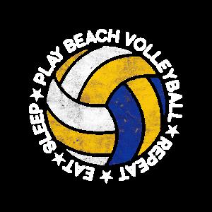 Beach Volleyball Tee Volleyball Leidenschaft