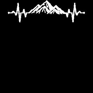 Klettern am Berg