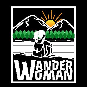 Wandern Frauen Spruch - Wander Woman