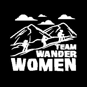 Wandern Frauen Spruch - Team Wander Woman