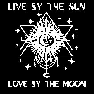 Blackcraft Tarot Cult Cool Occult Vintage Moon Sun