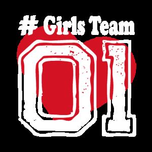 Girls Team 01 Freundschaft beste Freundinnen