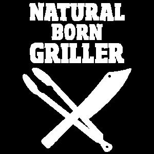 Natural Born Griller - Killer Grillmeister Design