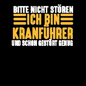 Kran Kranführer Hausbau Baustelle Handwerker