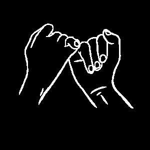 Ewigkeit Schwur Vertrauen Zusammenhalt Versprechen