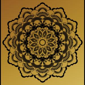 Gold Mandala