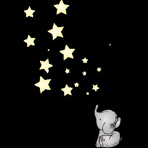 Lea im Sternenregen | Baby Elefant