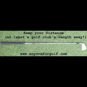 Bleib auf Abstand