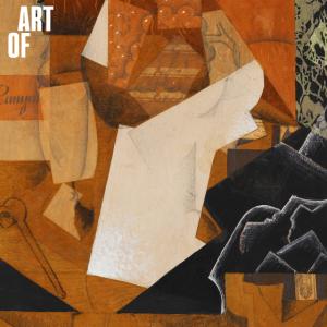 Juan Gris: Stillleben mit Trauben, 1914