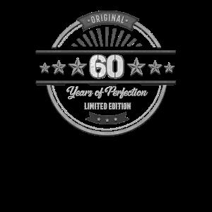 60 Jahre Alt - Geschenk zum 60 Geburtstag