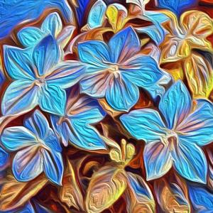 Gemalte Flower Power SP patjila 2020